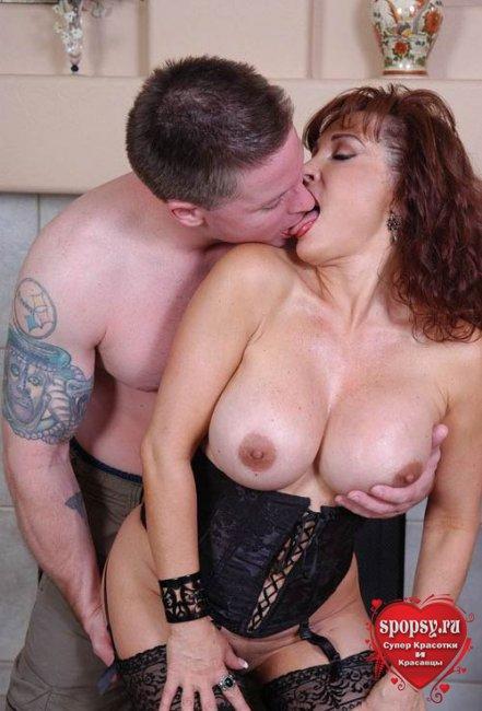 Секс с красивыми тёщами